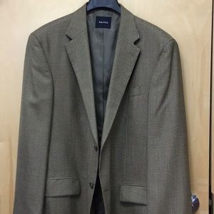 Nautical wool 46L sport jacket